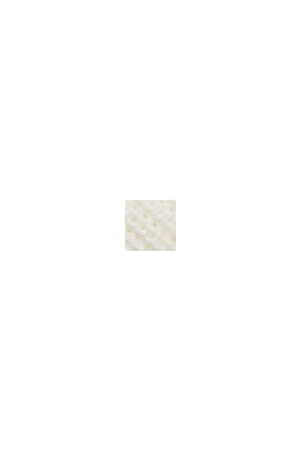 À teneur en chanvre: le pull-over en fibres LENZING™ ECOVERO™, OFF WHITE, swatch