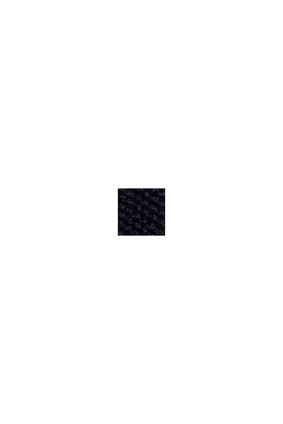 À teneur en chanvre: le pull-over en fibres LENZING™ ECOVERO™, NAVY, swatch