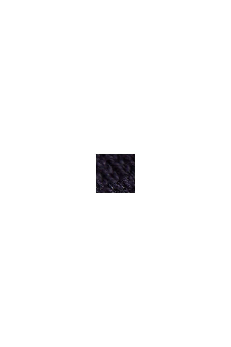 Streifen-Pullover aus 100% Organic Cotton, NAVY, swatch