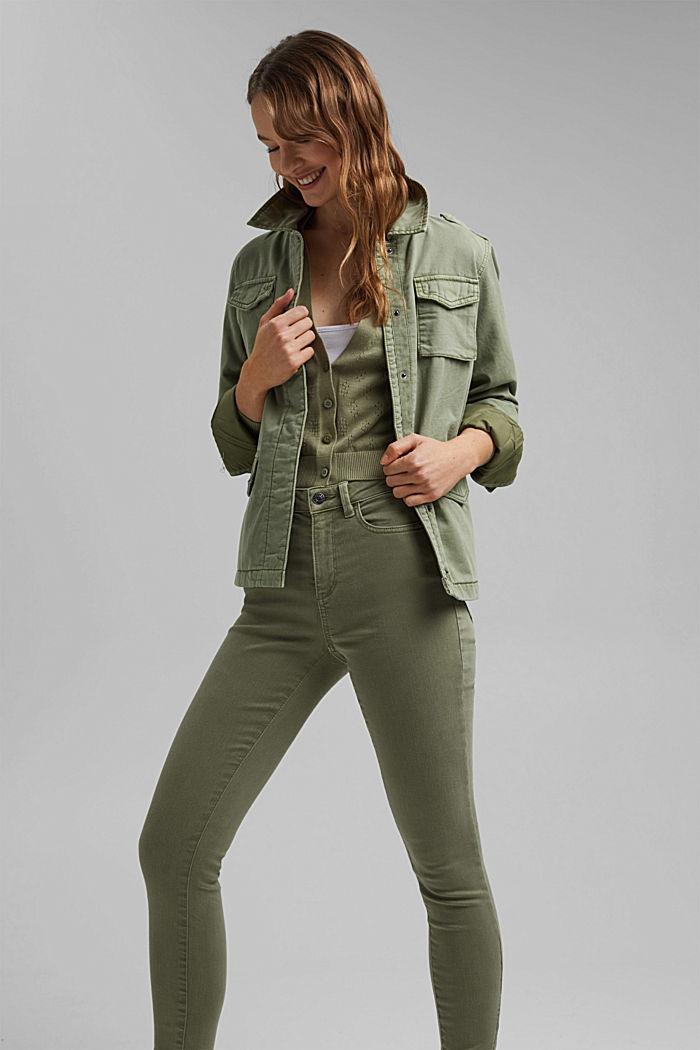 Bolero-Cardigan aus 100% Organic Cotton