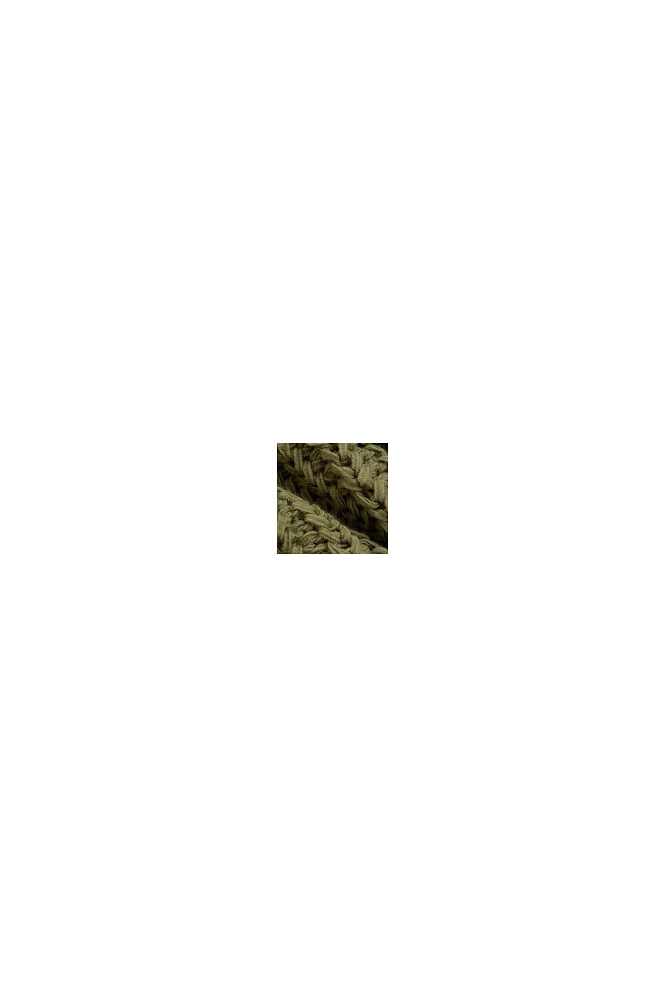 Ribbon yarn jumper with a bateau neckline, LIGHT KHAKI, swatch