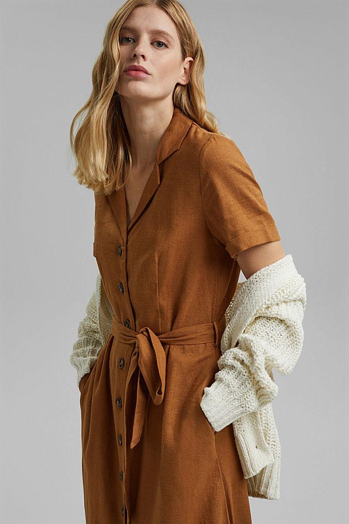 Ribbon yarn cardigan, OFF WHITE, detail image number 5
