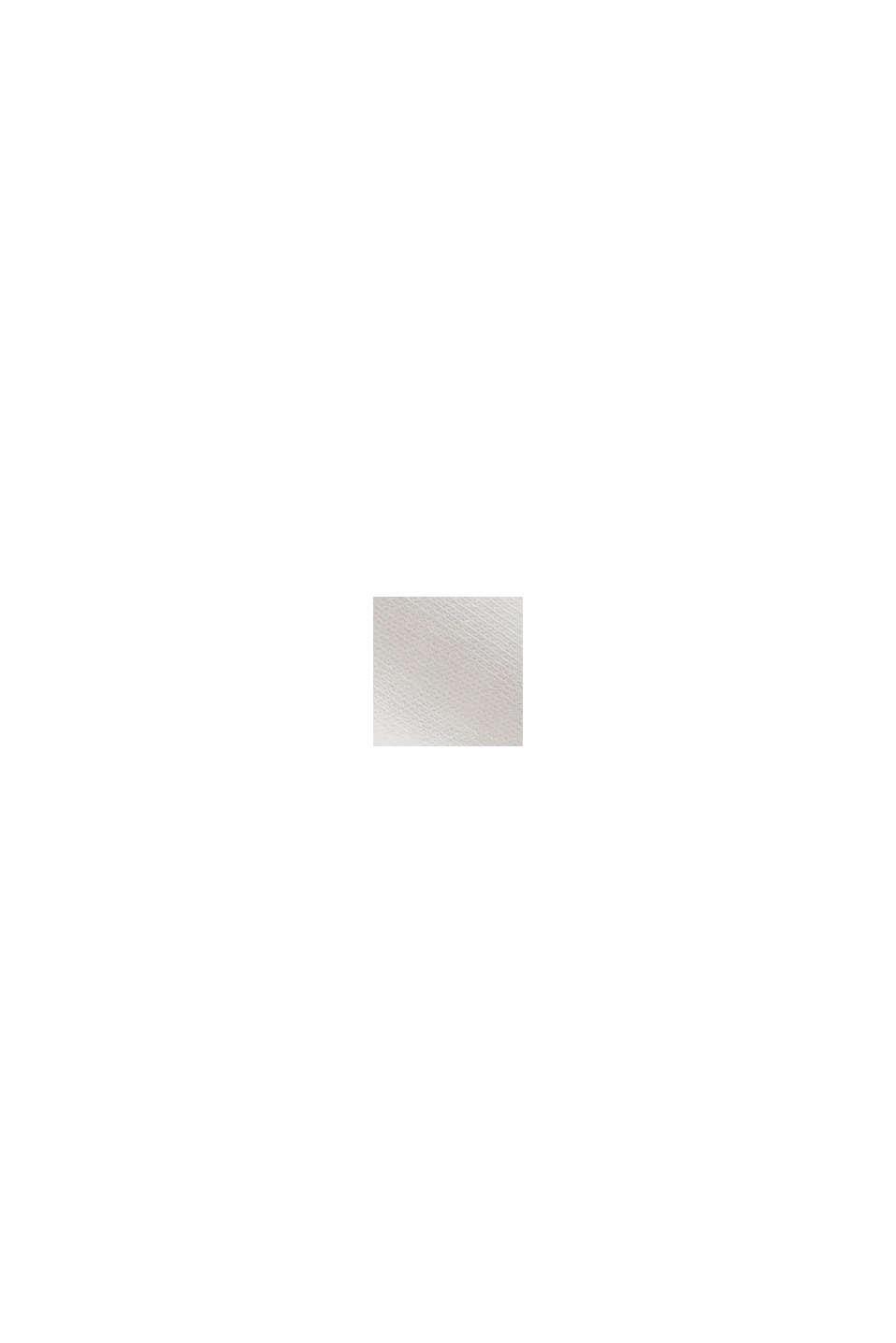Hranatá mikina ze 100% bio bavlny, OFF WHITE, swatch