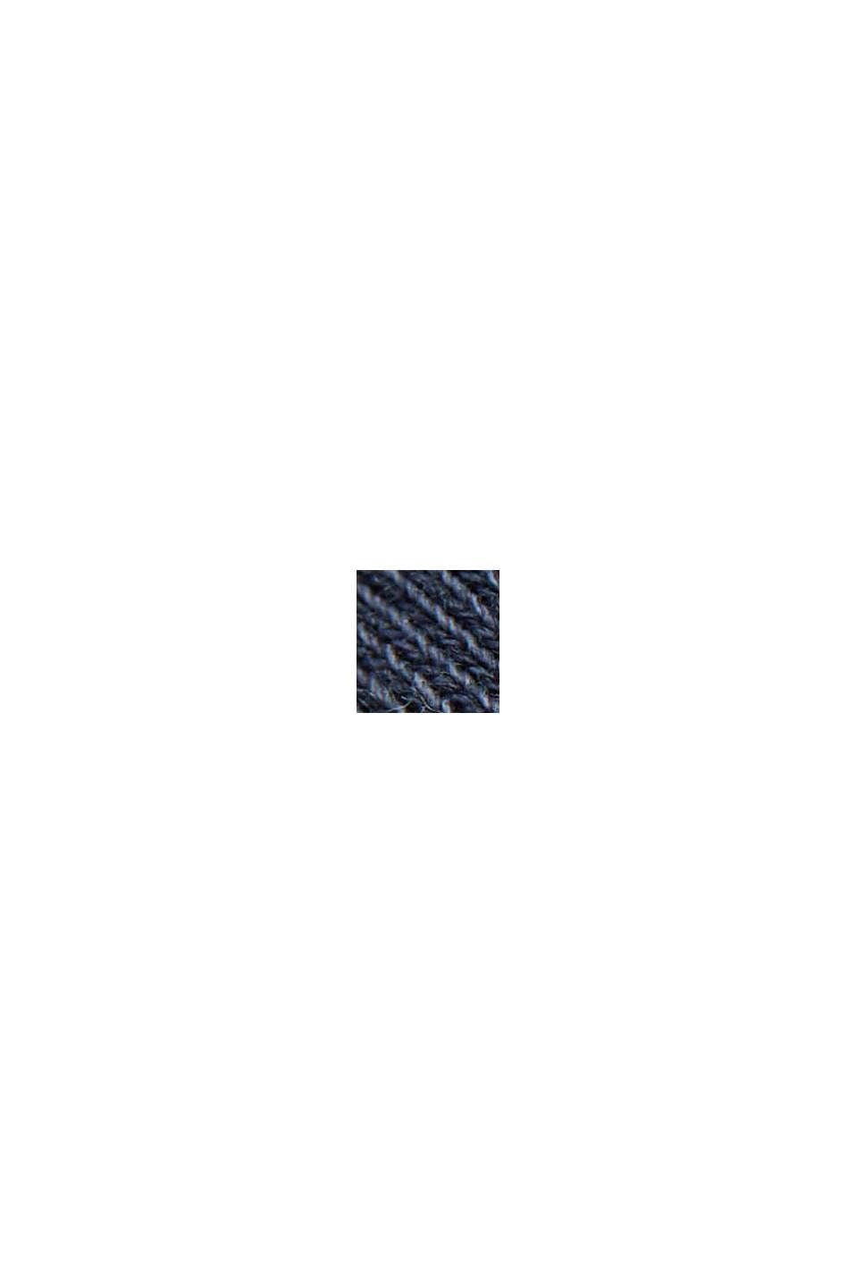 Boxig sweatshirt i 100% ekologisk bomull, NAVY, swatch