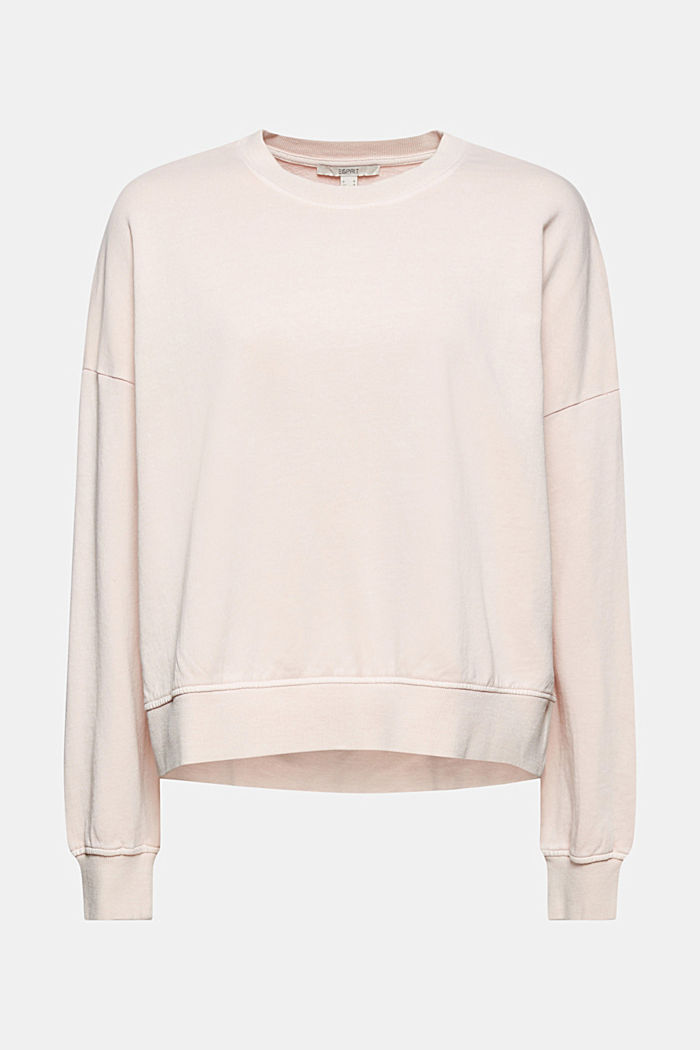 Boxy Sweatshirt aus 100% Organic Cotton