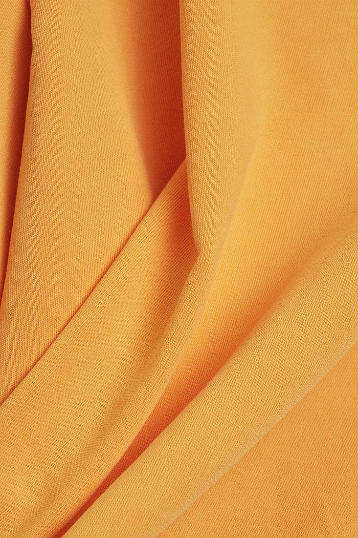 Boxy shirt af 100% økologisk bomuld, ORANGE, detail image number 4