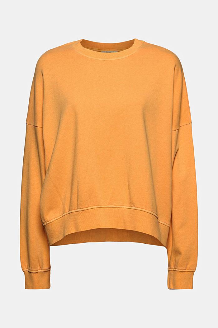 Boxy shirt af 100% økologisk bomuld, ORANGE, detail image number 6