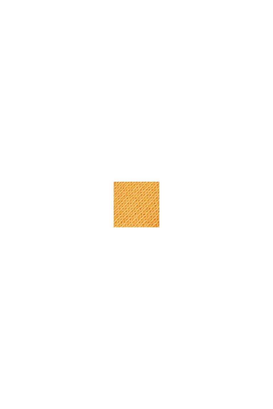 Hranatá mikina ze 100% bio bavlny, ORANGE, swatch