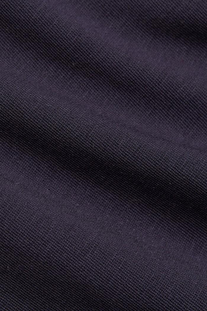Basic T-shirt in organic cotton, NAVY, detail image number 4