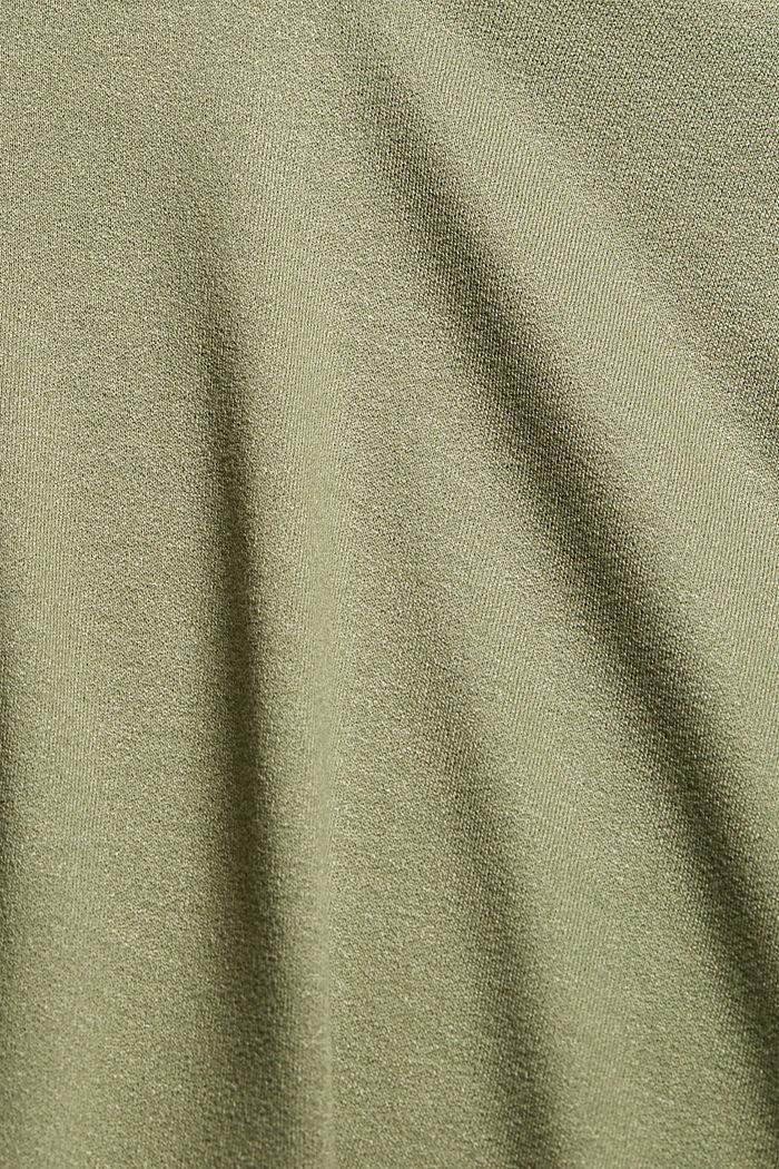 T-shirt en fibres LENZING™ ECOVERO™, LIGHT KHAKI, detail image number 4