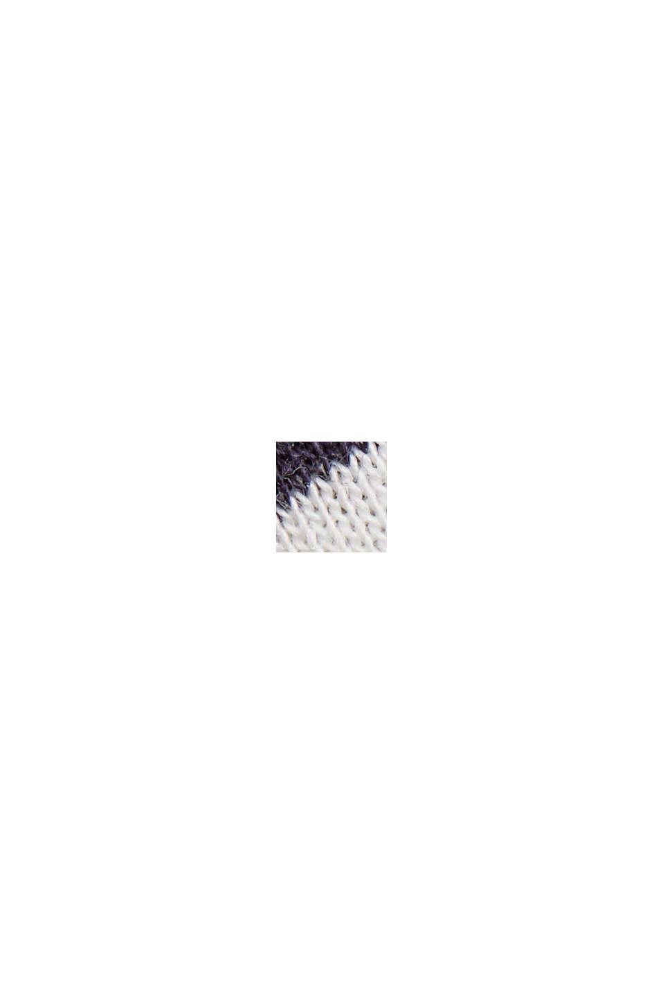 Maglia con dettagli a giorno, cotone biologico/TENCEL™, OFF WHITE, swatch