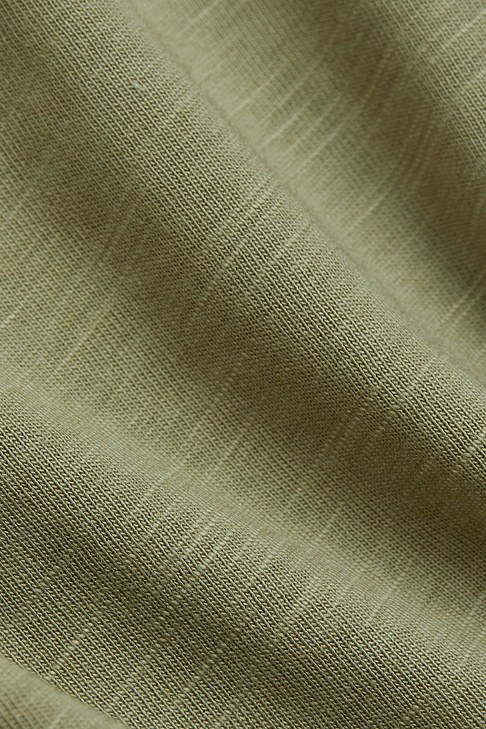 T-shirt made of organic cotton and TENCEL™/modal, LIGHT KHAKI NEW, detail image number 4