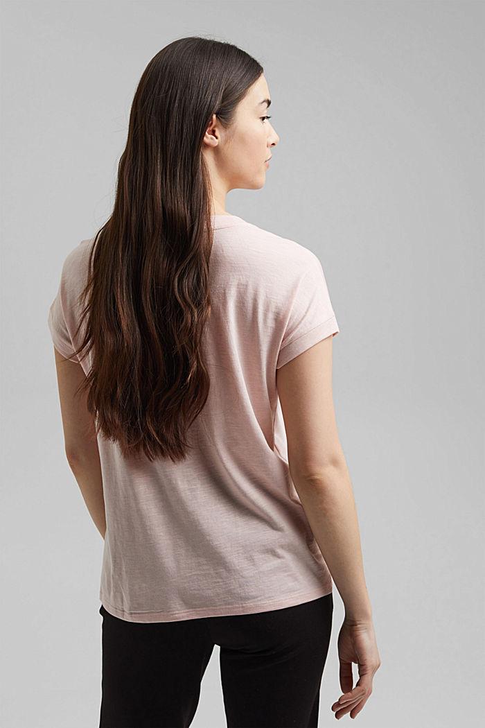 T-Shirt aus Organic Cotton und TENCEL™/Modal, NUDE, detail image number 3