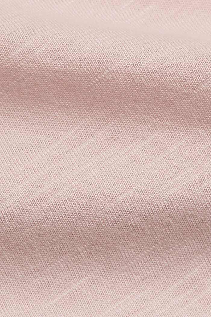 T-shirt made of organic cotton and TENCEL™/modal, NUDE, detail image number 4