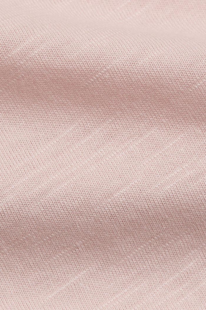 T-Shirt aus Organic Cotton und TENCEL™/Modal, NUDE, detail image number 4