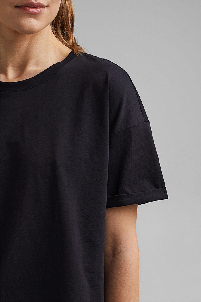 T-shirt made of 100% organic cotton, BLACK, detail image number 2