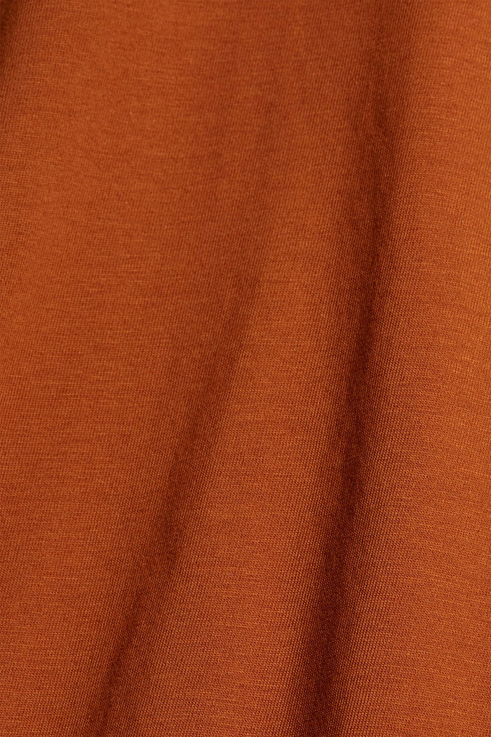 T-shirt made of 100% organic cotton, CARAMEL, detail image number 4