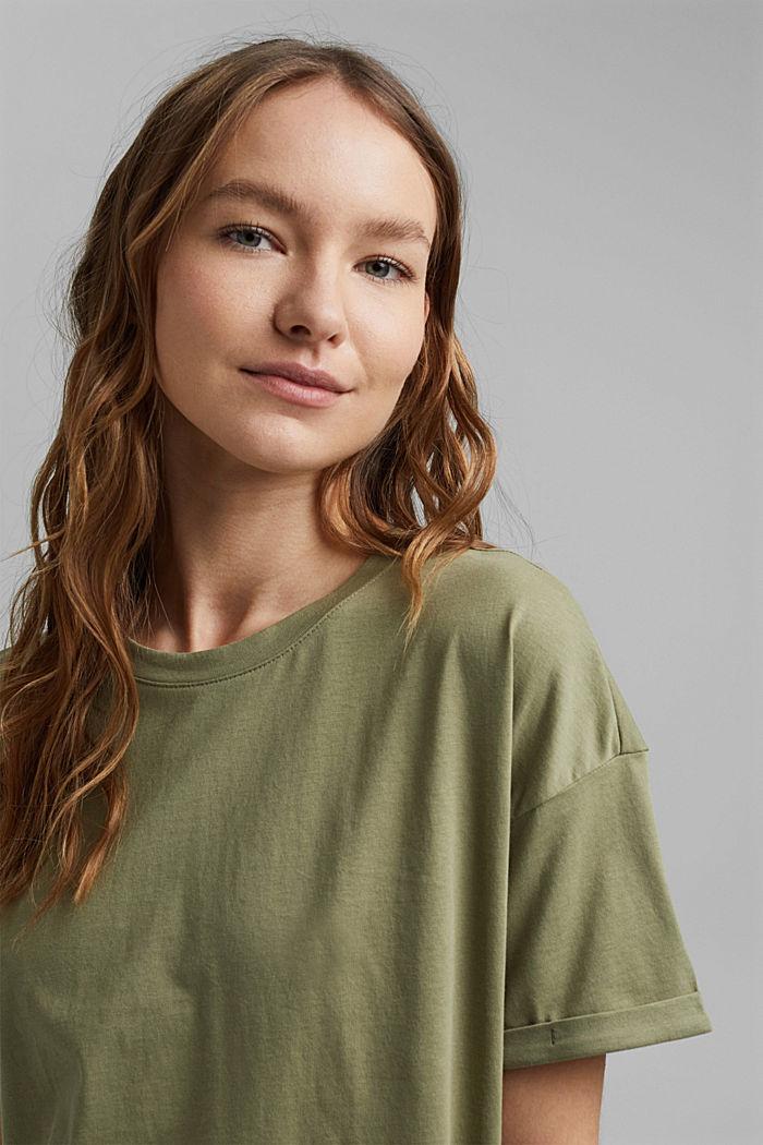 T-shirt made of 100% organic cotton, LIGHT KHAKI, detail image number 5