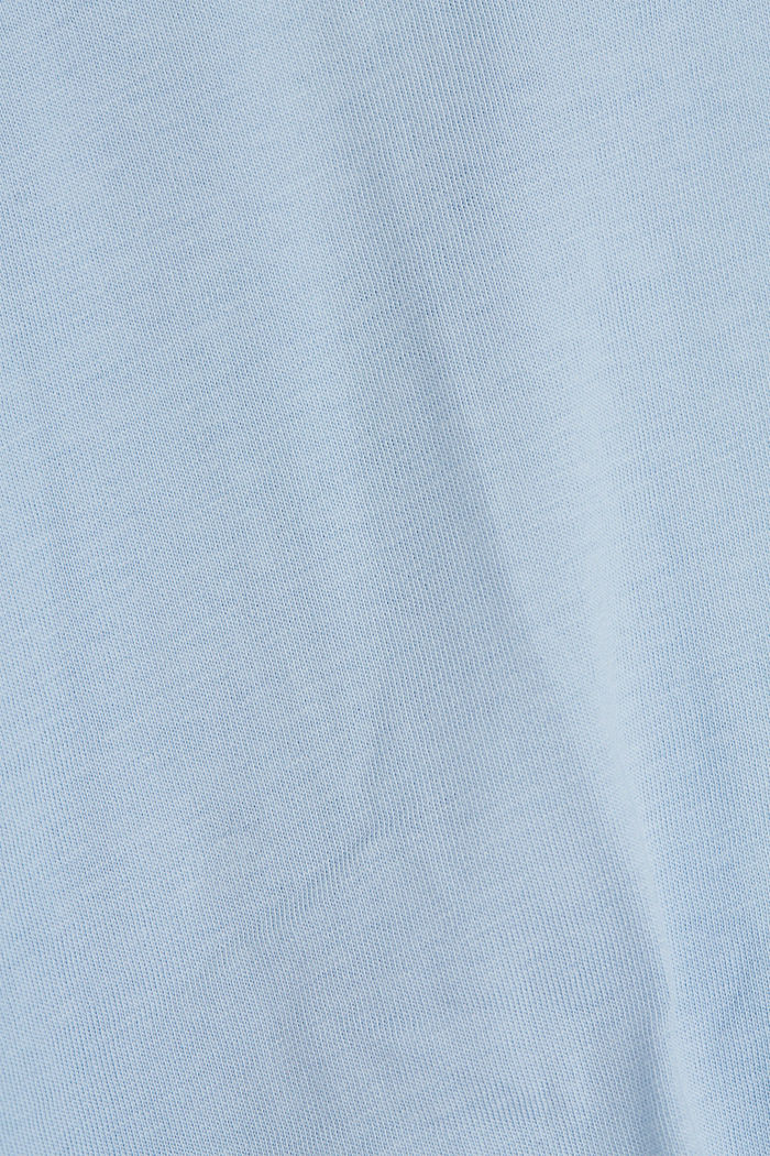 T-shirt made of 100% organic cotton, LIGHT BLUE, detail image number 4