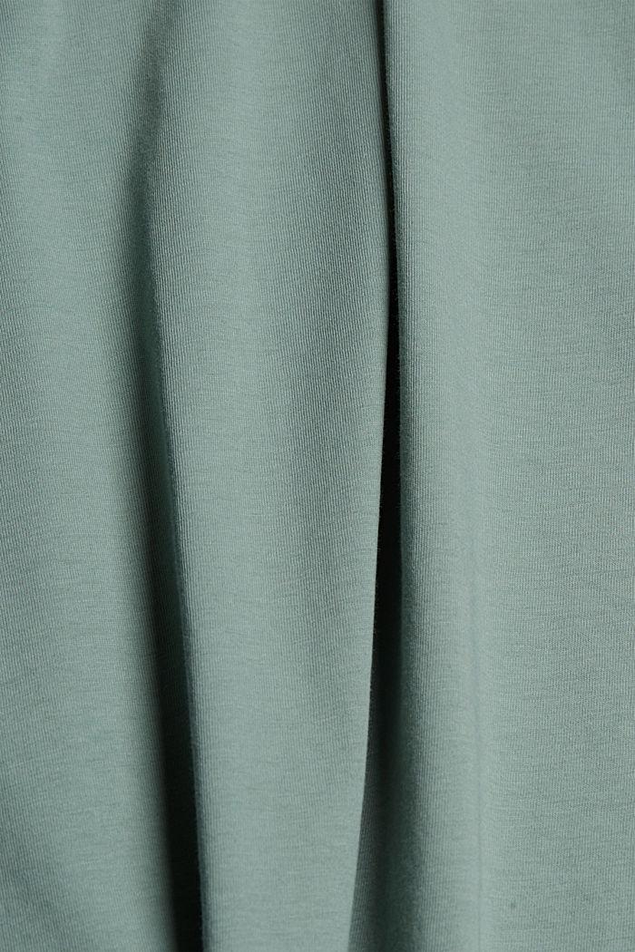 T-paita 100 % luomupuuvillaa, TURQUOISE, detail image number 4