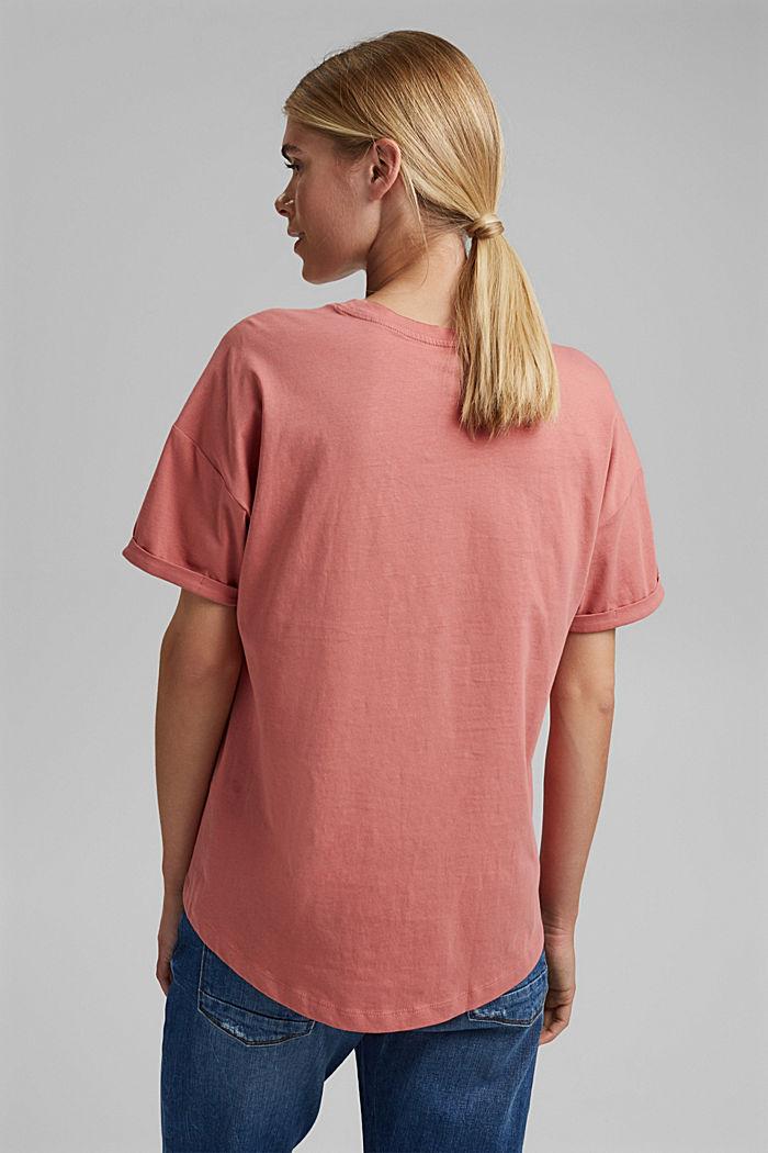 T-shirt made of 100% organic cotton, BLUSH, detail image number 3