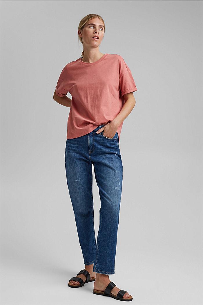 T-shirt made of 100% organic cotton, BLUSH, detail image number 1