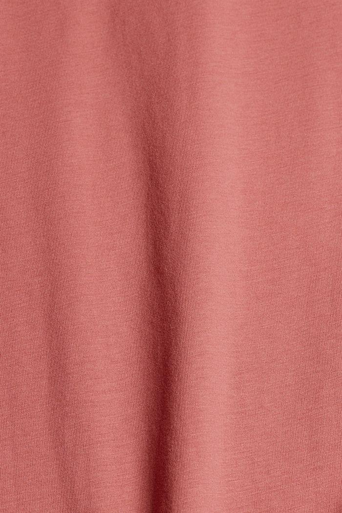 T-shirt made of 100% organic cotton, BLUSH, detail image number 4