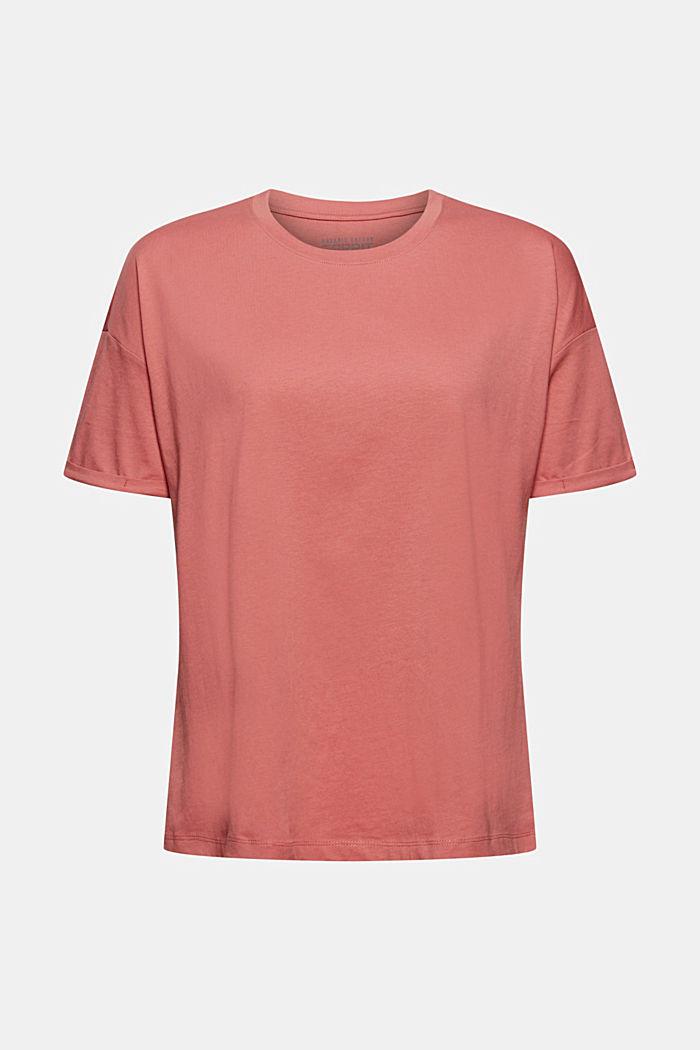 T-shirt made of 100% organic cotton, BLUSH, detail image number 5