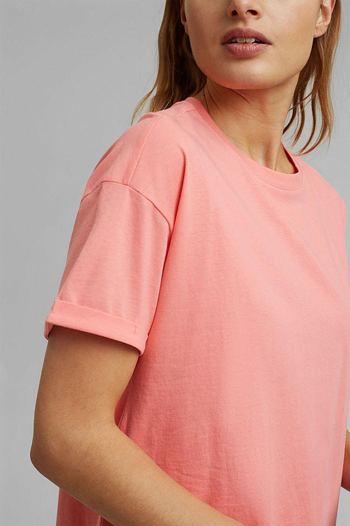 T-shirt made of 100% organic cotton, PINK, detail image number 2