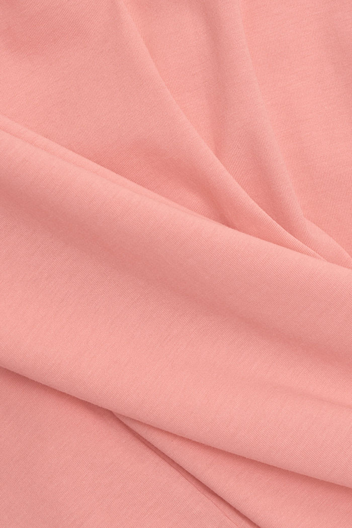 T-shirt made of 100% organic cotton, PINK, detail image number 4