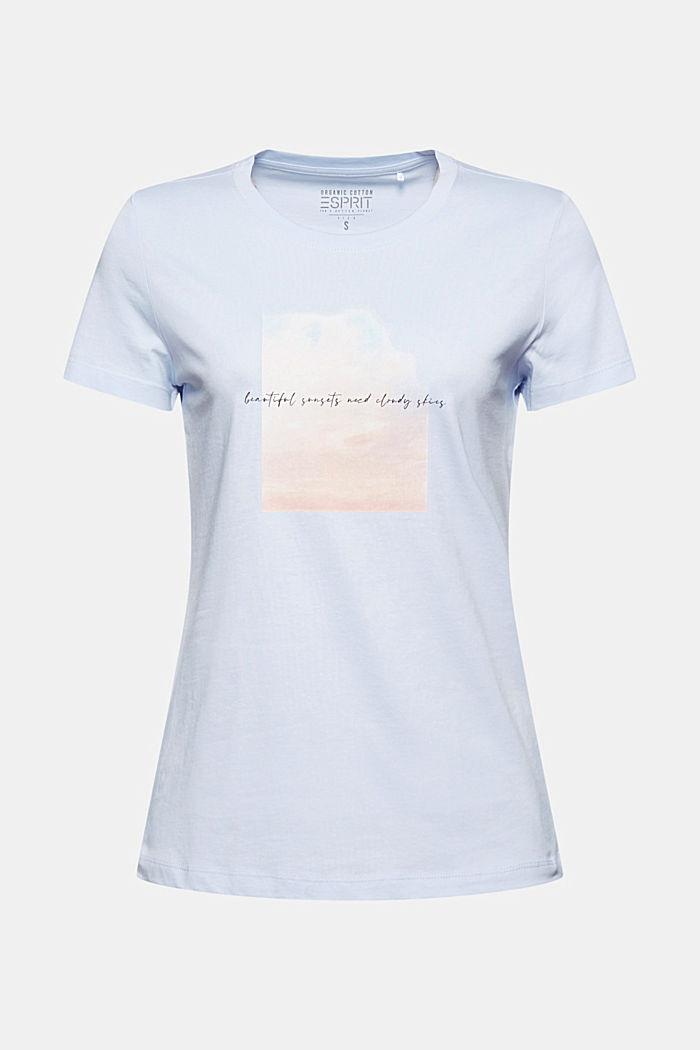 Organic cotton print T-shirt