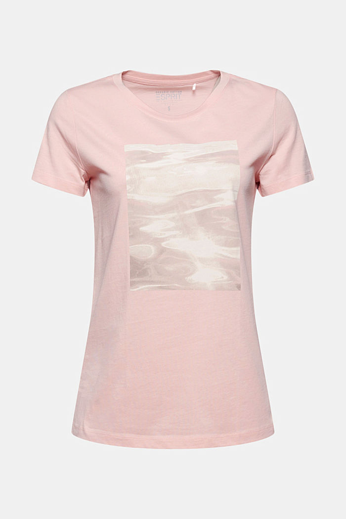 Organic cotton print T-shirt