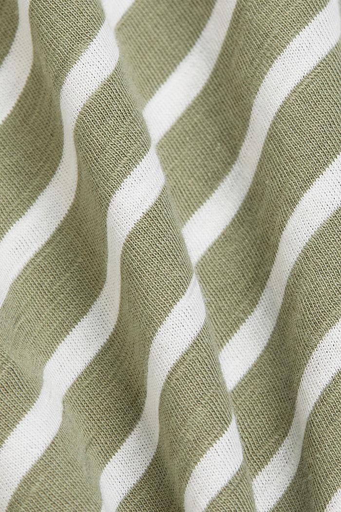 T-Shirt aus Organic Cotton, LIGHT KHAKI, detail image number 4