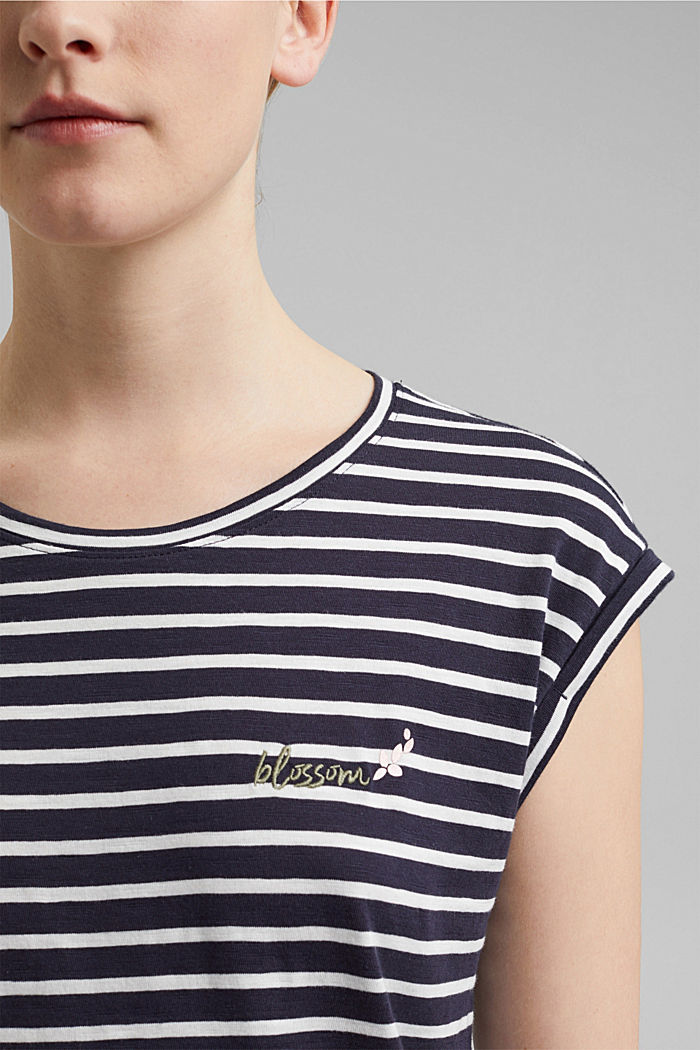 Organic cotton T-shirt, NAVY, detail image number 2