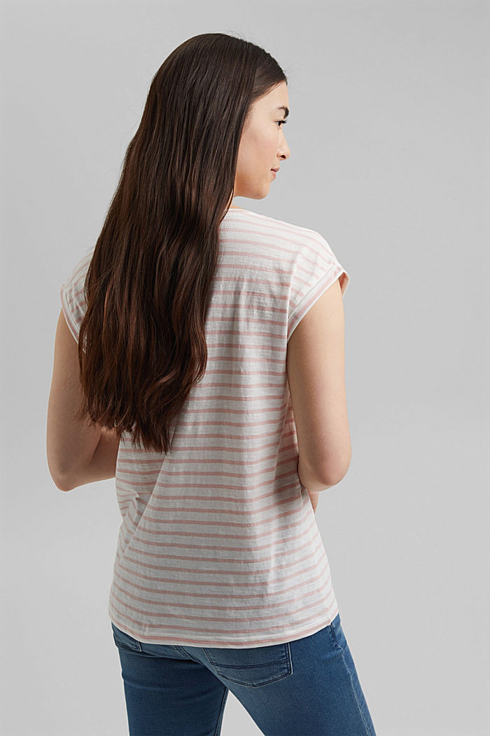Organic cotton T-shirt, NUDE, detail image number 3