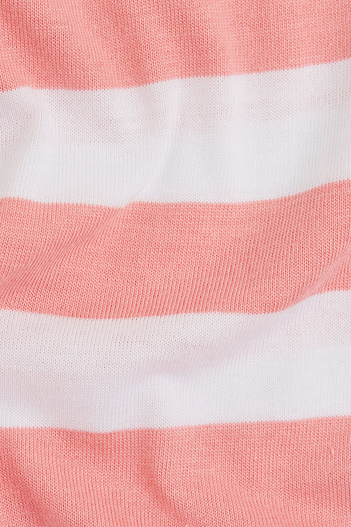 Striped T-shirt made of 100% organic cotton, PINK, detail image number 4