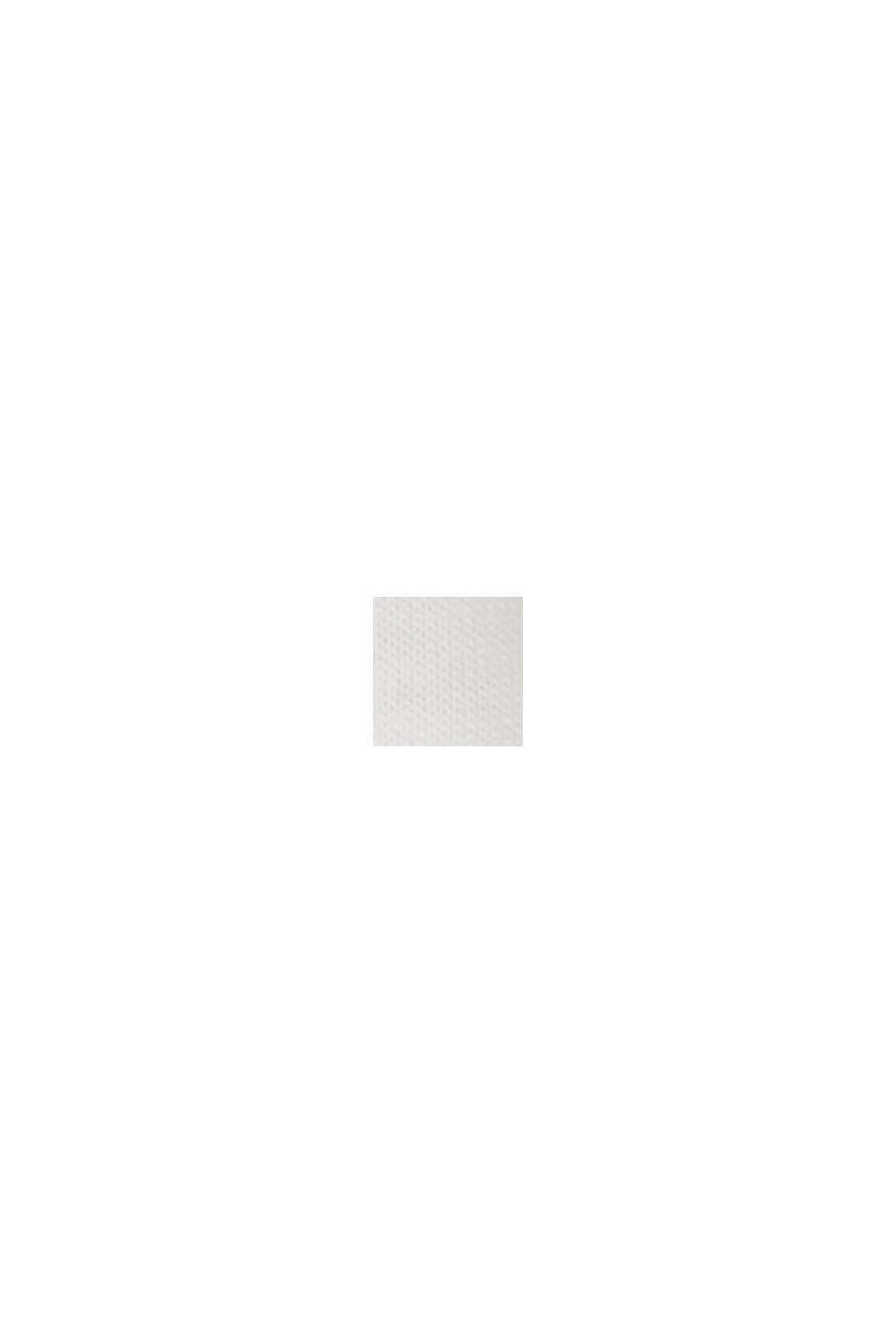CURVY print T-shirt, organic cotton/TENCEL™, OFF WHITE, swatch