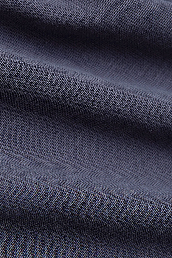 Flowing T-shirt with modal, NAVY, detail image number 4
