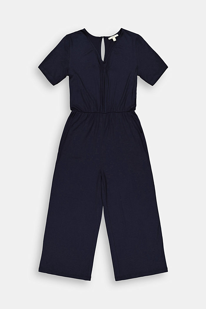 Jersey jumpsuit made of LENZING™ ECOVERO™