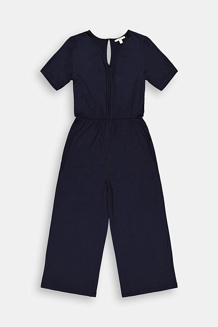Jersey-Jumpsuit aus LENZING™ ECOVERO™
