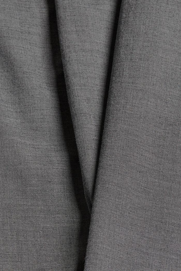 Chino aus Baumwoll-Stretch, DARK GREY, detail image number 4