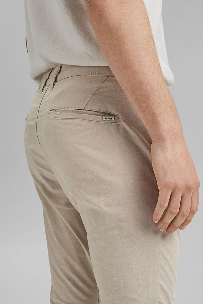 Pants woven, LIGHT BEIGE, detail image number 2