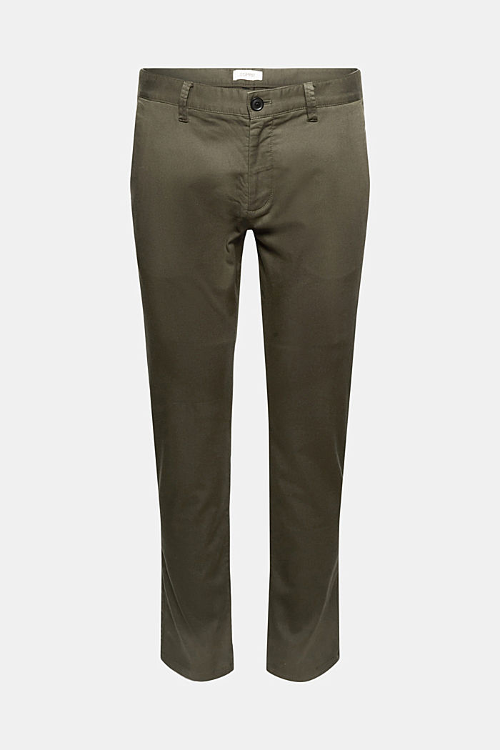 Stretch trousers with COOLMAX® and organic cotton