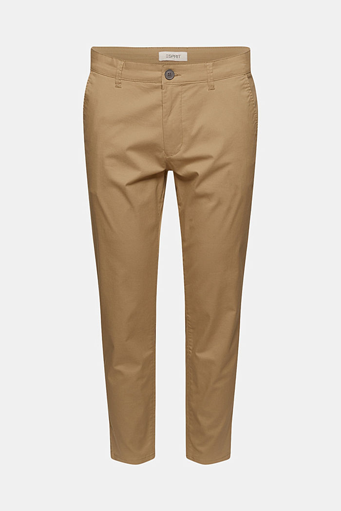 Stretch-Chino mit COOLMAX® und Organic Cotton