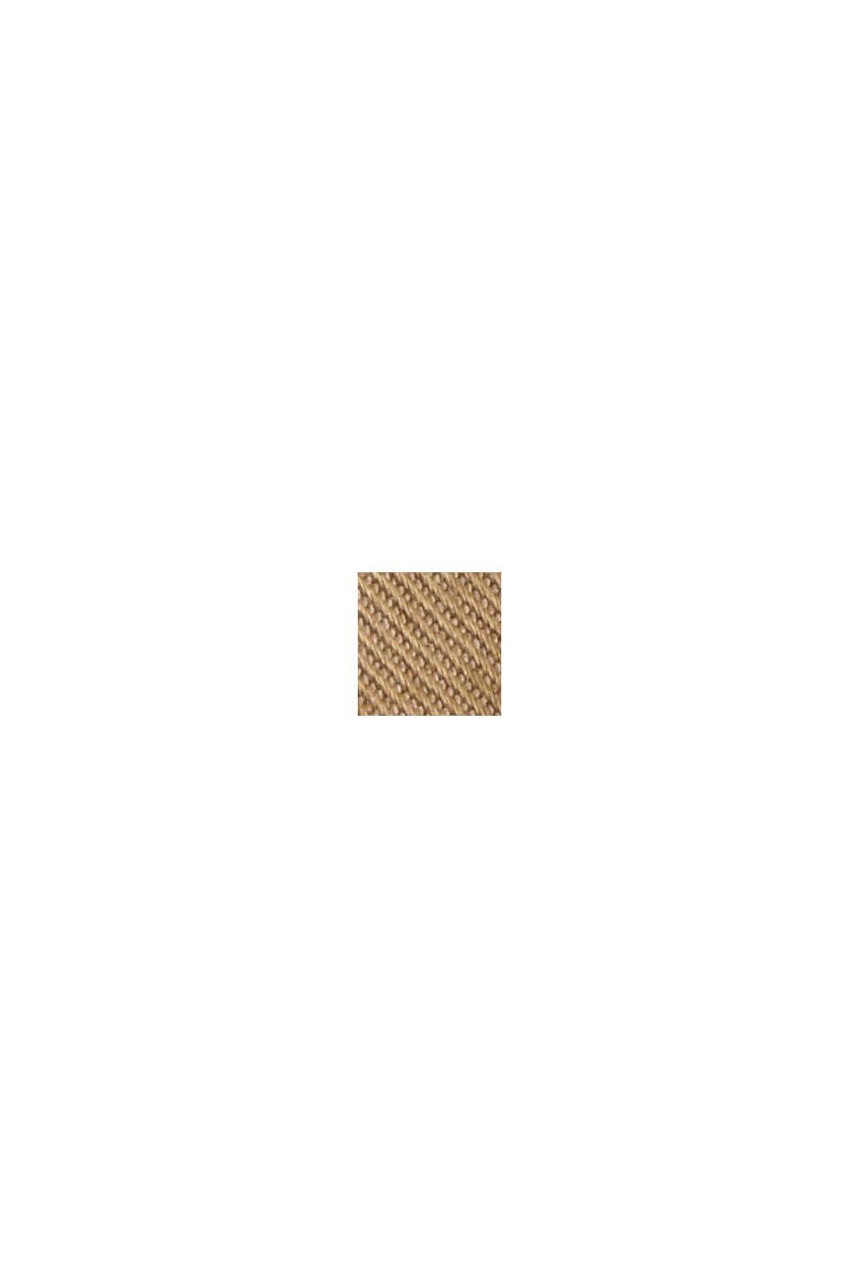 Cropped Chino mit COOLMAX® /Organic Cotton, BEIGE, swatch