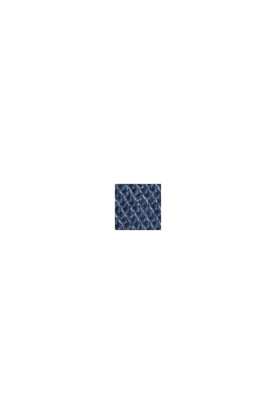 Chino stretch en coton bio, GREY BLUE, swatch