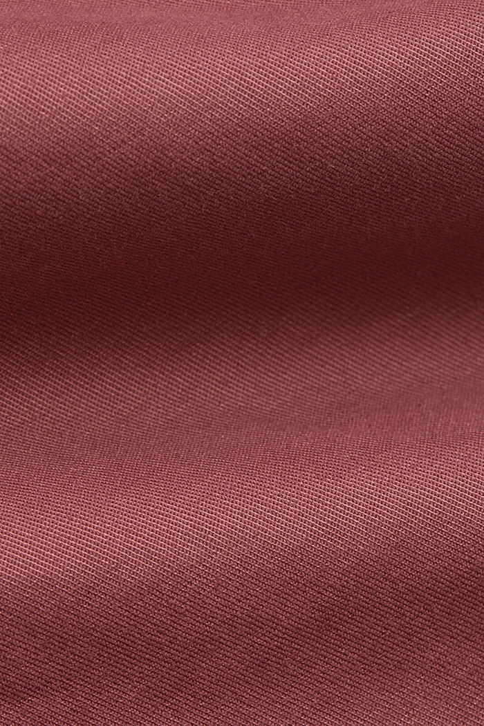 Stretch chinos in organic cotton, BLUSH, detail image number 4