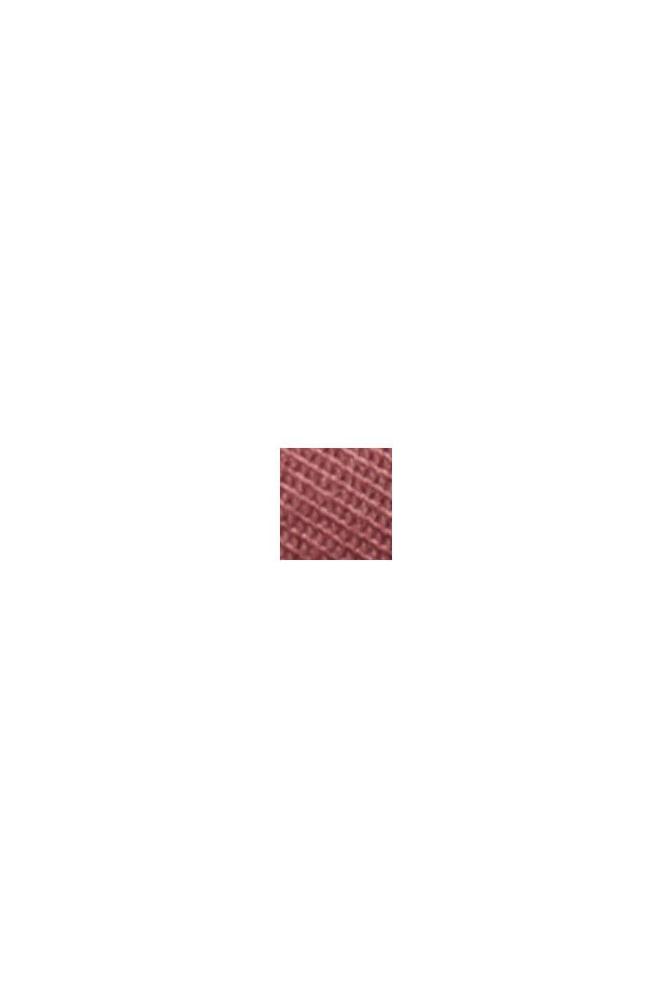 Strečové kalhoty chino z bio bavlny, BLUSH, swatch
