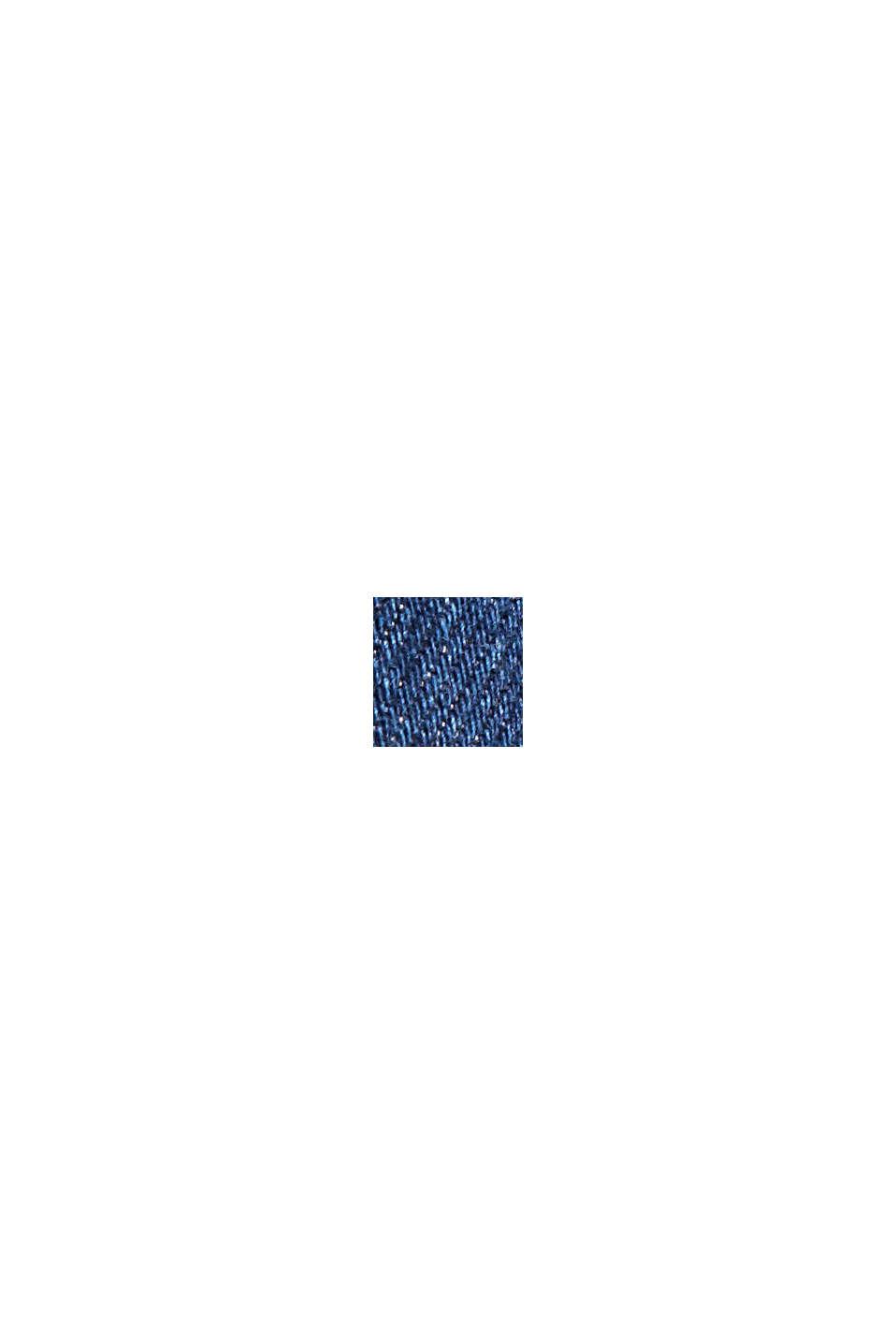 Stretch-Jeans aus Lyocell/Organic Cotton, BLUE DARK WASHED, swatch
