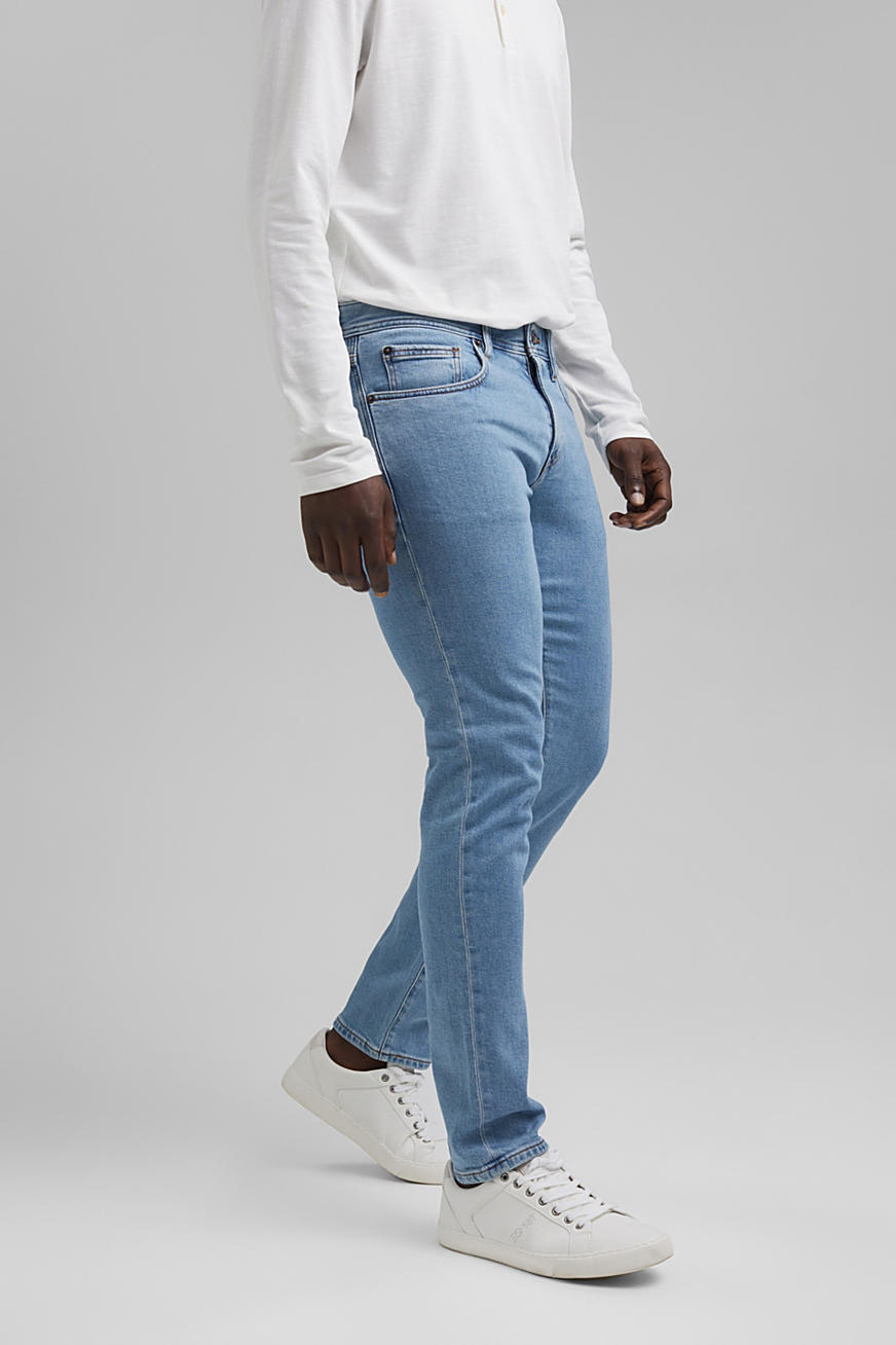 Stretch jeans made of lyocell and organic cotton